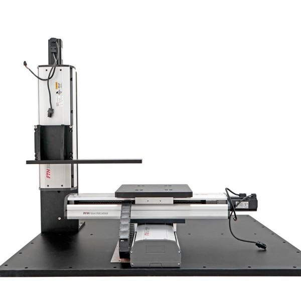 盖板式三轴丝杆模组-定制自动激光机