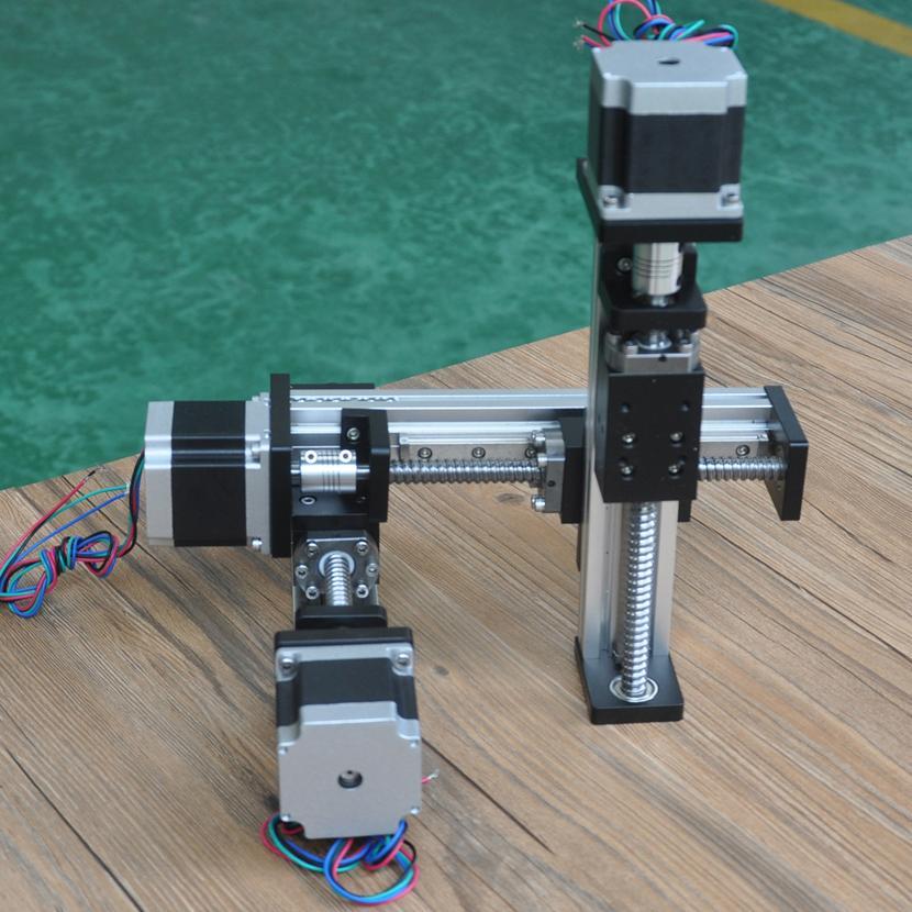 FSL40系列滚珠丝杆XYZ三轴滑台(悬臂式)