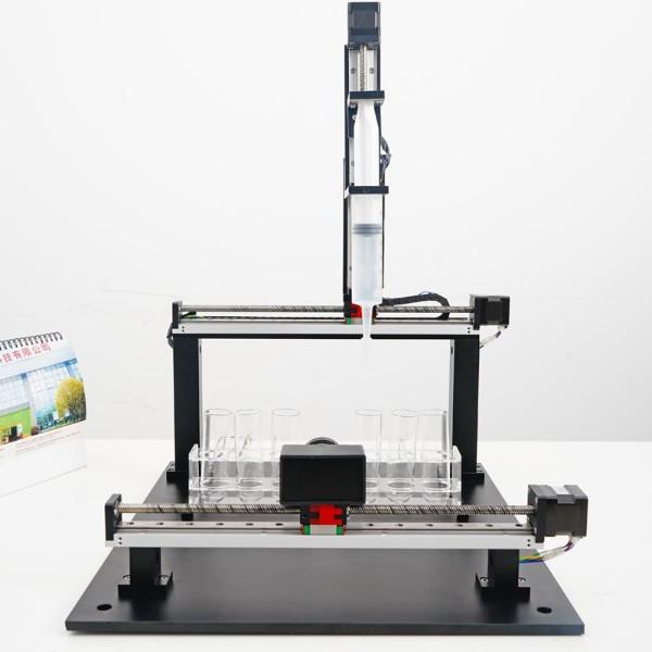 精密微型三轴滑台 - 医疗检测仪器设备