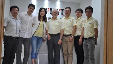 福誉科技与德国NEUGART公司交流合作