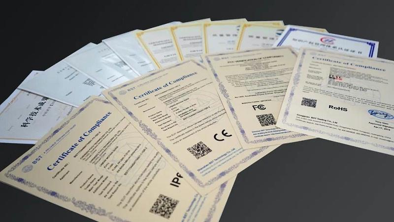 福誉科技证书
