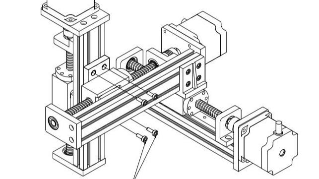 悬臂式三轴丝杆滑台如何安装?